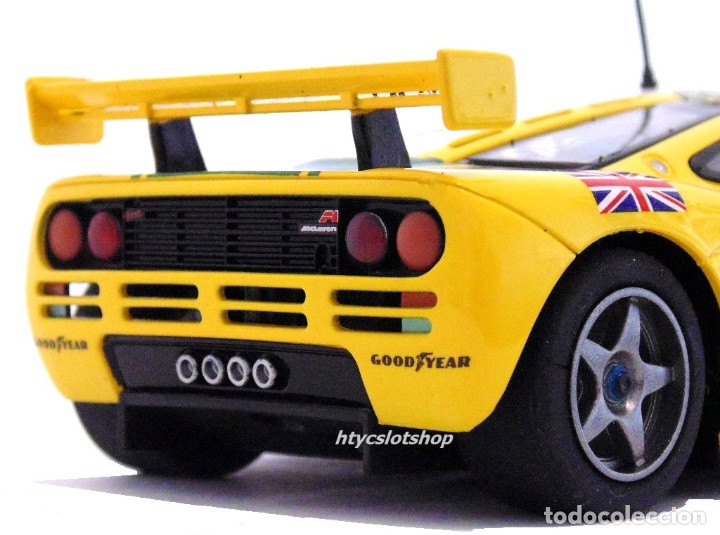 Slot Cars: SUPERSLOT MCLAREN F1 GTR #51 HARRODS DEREK BELL / ANDY WALLACE 24 H LE MANS 1995 SCALEXTRIC UK H4026 - Foto 12 - 167667880