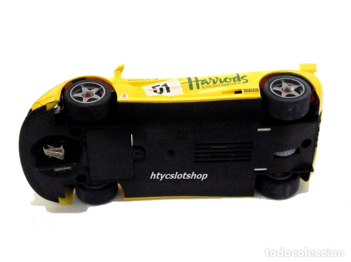 Slot Cars: SUPERSLOT MCLAREN F1 GTR #51 HARRODS DEREK BELL / ANDY WALLACE 24 H LE MANS 1995 SCALEXTRIC UK H4026 - Foto 13 - 167667880