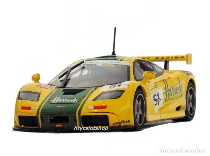 Slot Cars: SUPERSLOT MCLAREN F1 GTR #51 HARRODS DEREK BELL / ANDY WALLACE 24 H LE MANS 1995 SCALEXTRIC UK H4026 - Foto 5 - 167667880