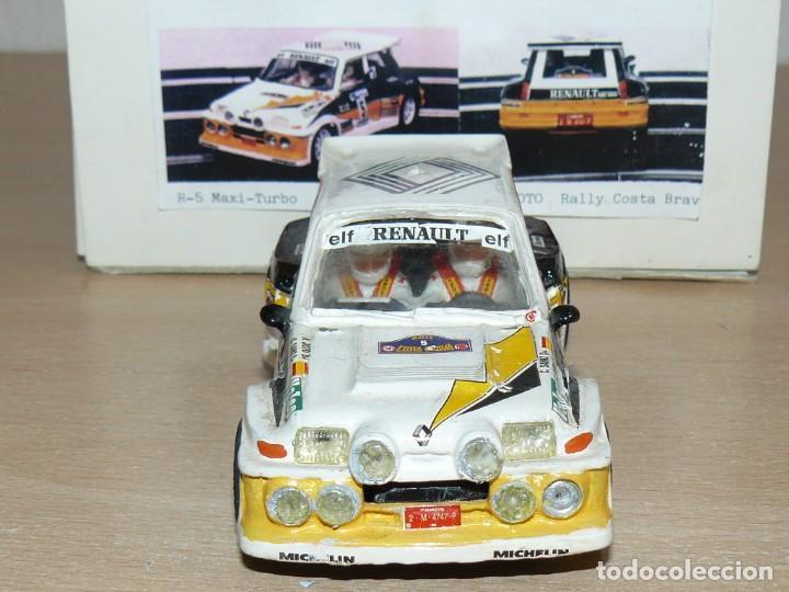 Slot Cars: Scalextric Mini Replicas K.012 Renault 5 Maxi Turbo C. Sainz A. Boto A86 años 90 - Foto 5 - 168120292
