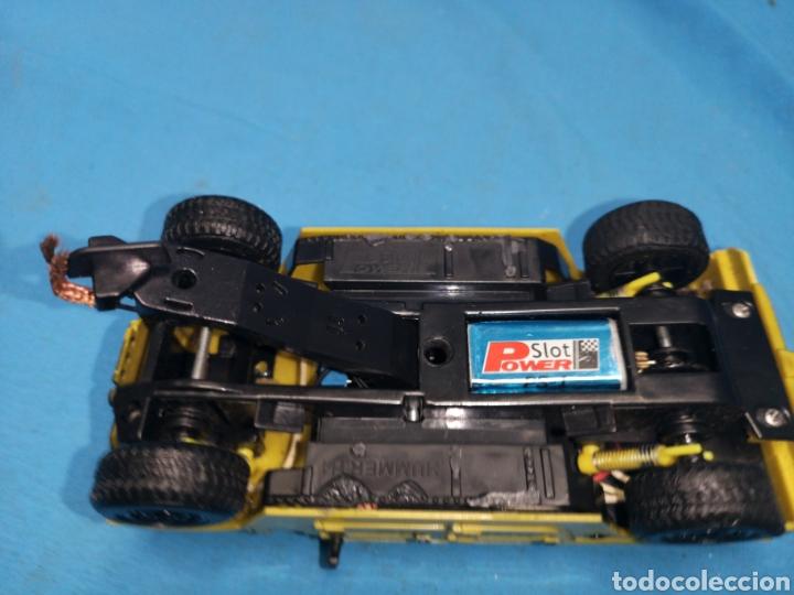 Slot Cars: Coche para Scalextric, slot power, hummer 1, amarillo - Foto 6 - 168671357