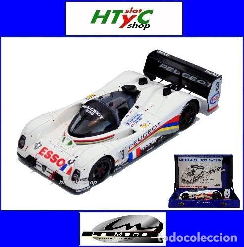 LE MANS MINIATURES PEUGEOT 905 EV1 #3 WINNER LE MANS 1993 BRABHAM / BOUCHUT / HELARY 132041EVO/3M (Juguetes - Slot Cars - Magic Cars y Otros)