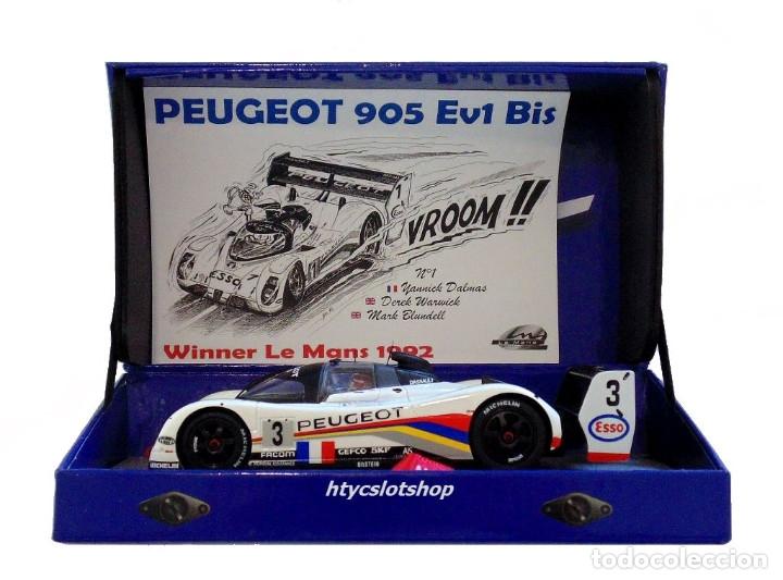 Slot Cars: LE MANS MINIATURES PEUGEOT 905 EV1 #3 WINNER LE MANS 1993 BRABHAM / BOUCHUT / HELARY 132041EVO/3M - Foto 14 - 168304804