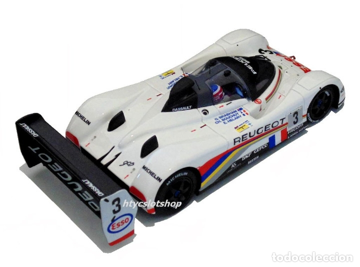 Slot Cars: LE MANS MINIATURES PEUGEOT 905 EV1 #3 WINNER LE MANS 1993 BRABHAM / BOUCHUT / HELARY 132041EVO/3M - Foto 4 - 168304804
