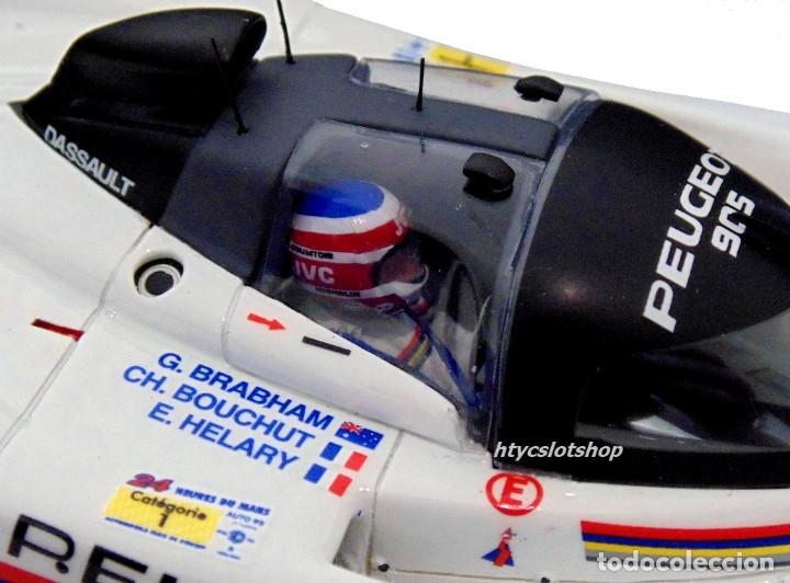 Slot Cars: LE MANS MINIATURES PEUGEOT 905 EV1 #3 WINNER LE MANS 1993 BRABHAM / BOUCHUT / HELARY 132041EVO/3M - Foto 10 - 168304804