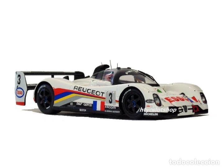Slot Cars: LE MANS MINIATURES PEUGEOT 905 EV1 #3 WINNER LE MANS 1993 BRABHAM / BOUCHUT / HELARY 132041EVO/3M - Foto 5 - 168304804