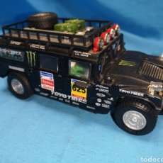 Slot Cars: COCHE PARA SCALEXTRIC, SLOT POWER, HUMMER 1, EN NEGRO. Lote 168672002