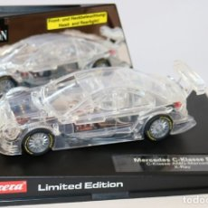 Slot Cars: CARRERA 27106 MERCEDES C-KLASSE DTM LIMITED EDITION X-RAY. Lote 167454092