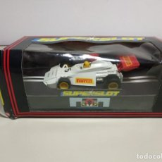 Slot Cars: J10- BRABHAM S953I SCALEXTRIC SUPERSLOT. Lote 169552996