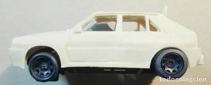 Slot Cars: Mini Replicas K003 Kit + chasis SRS completo Lancia Delta 4WD Integrale Martini '92 Scalextric SCX - Foto 2 - 129265315