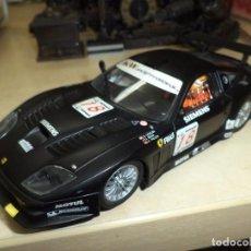 Slot Cars: FERRARI 575 GTC SCALEXTRIC CARRERA EVOLUTION.ESC 1/32.. Lote 170169445