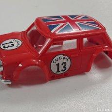Slot Cars: ANTIGUA CARROCERIA DEL MINI COOPER AJ'S SLOT. Lote 170228441