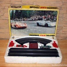 Slot Cars: ANTIGUO CIRCUITO DROMO CAR 704 DN - EN SU CAJA ORIGINAL - POLISTIC - MUY BUEN ESTADO. Lote 170559360