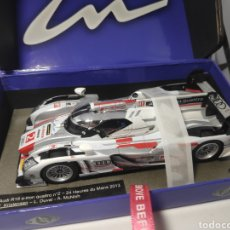 Slot Cars: LE MANS MINIATURES AUDI R18 E-TRON QUATTRO N°2 WINNER LE MANS 2013 SLOT. Lote 170706152