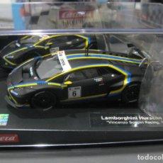 Slot Cars: LAMBORGHINI HURACAN GT3 NEGRO Nº3 DE CARRERA. Lote 170886765