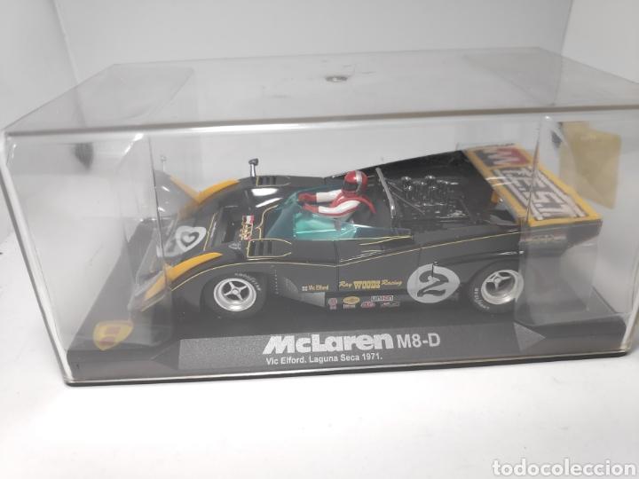 VANQUISH MG MCLAREN M8 D VIC EL FORD LAGUNA SECA 1971 REF. CA2 (Juguetes - Slot Cars - Magic Cars y Otros)