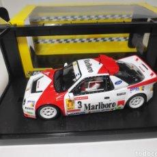 Slot Cars: MSC FORD RS200 MARLBORO A.ZANINI PRINCIPE DE ASTURIAS REF. MSC-6013. Lote 171454629