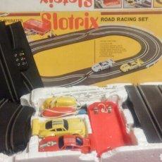 Slot Cars: SLOTRIX ROAD RANCING SET CIRCUITO CON COCHES. Lote 171534573