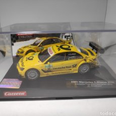 Slot Cars: CARRERA EVOLUTION MERCEDES AMG C-KLASSE 2008 DEUTSCHE POST COULTHARD REF. 27359. Lote 171635225