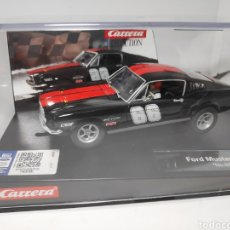 Slot Cars: CARRERA EVOLUTION FORD MUSTANG GT N°66 REF. 20027553. Lote 171724978