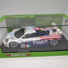 Slot Cars: MRSLOTCAR.CA MCLAREN F1 GTR FINA RACING SLOT CAR. Lote 171782434