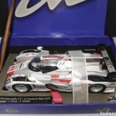 Slot Cars: LE MANS MINIATURES AUDI R18 E-TRON QUATTRO N°2 WINNER LE MANS 2013 SLOT REF. 132063/2M. Lote 171784687