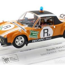 Slot Cars: PORSCHE 914/6 SAFETY CAR NURBURGRING 1973 (SRC). Lote 171795387