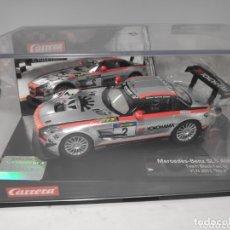Slot Cars: CARRERA EVOLUTION MERCEDES SLS AMG GT3 REF. 27381. Lote 172158798