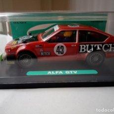 Slot Cars: GOM 1004 ALFA ROMEO GTV TOURING SPA´77. Lote 167630984