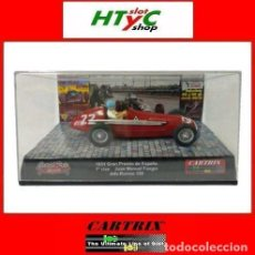 Slot Cars: CARTRIX FOROSLOT BARCELONA 2019 ALFA ROMEO ALFETTA #22 JUAN MANUEL FANGIO 1º GP ESPAÑA 1951 0040. Lote 214352551