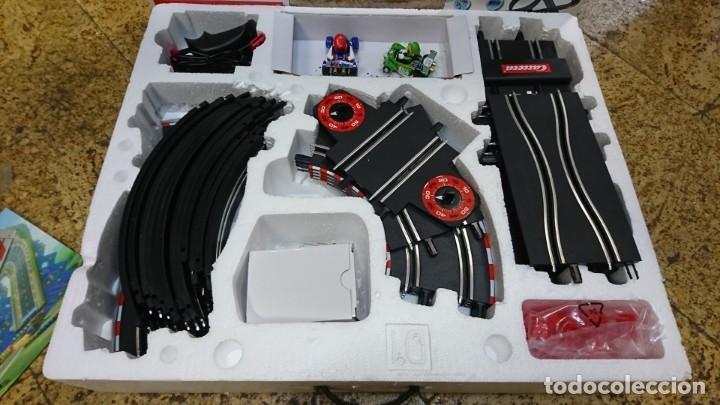 Slot Cars: PISTA DE CARRERAS MARIO KART DE CARRERA GO, MARIO BROS - Foto 2 - 172879113
