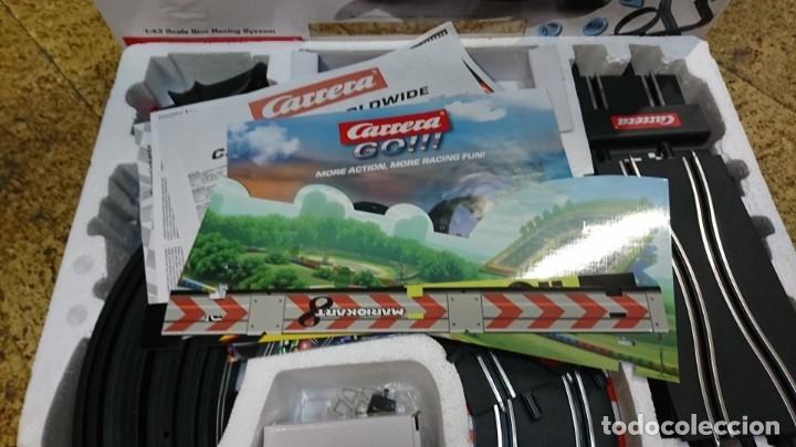 Slot Cars: PISTA DE CARRERAS MARIO KART DE CARRERA GO, MARIO BROS - Foto 5 - 172879113