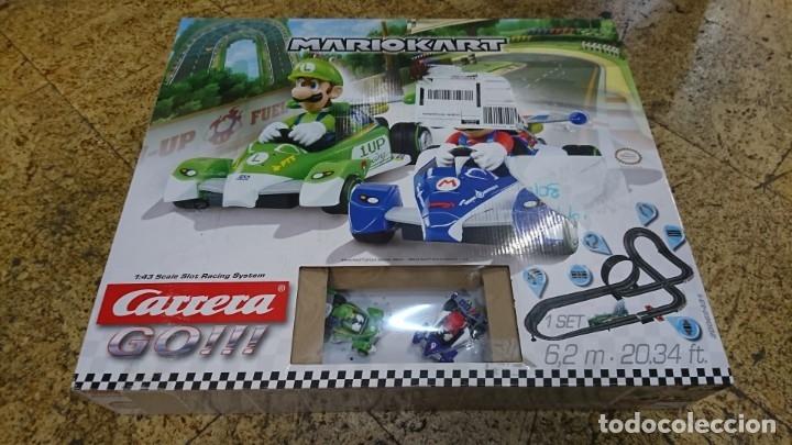 Slot Cars: PISTA DE CARRERAS MARIO KART DE CARRERA GO, MARIO BROS - Foto 6 - 172879113