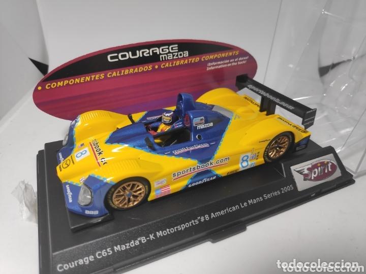 SPIRIT COURAGE C65 MAZDA LE MANS SERIES 2005 COMPONENTES CALIBRADOS REF.0601206 (Juguetes - Slot Cars - Magic Cars y Otros)