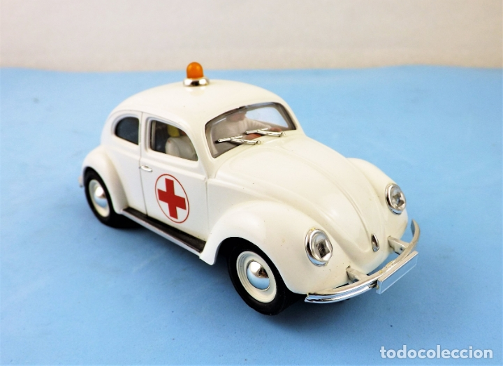 SLOT PINK KAR VOLKSWAGEN BEETLE (Juguetes - Slot Cars - Magic Cars y Otros)