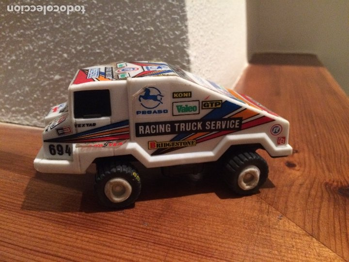 CAMION PEGASO JYESA - RACING TRUCK SERVICE - FUNCIONA - IBI ( ALICANTE ) (Juguetes - Slot Cars - Magic Cars y Otros)
