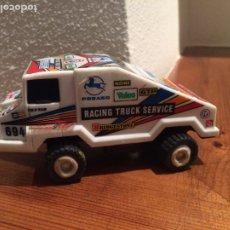 Slot Cars: CAMION PEGASO JYESA - RACING TRUCK SERVICE - FUNCIONA - IBI ( ALICANTE ). Lote 173878769