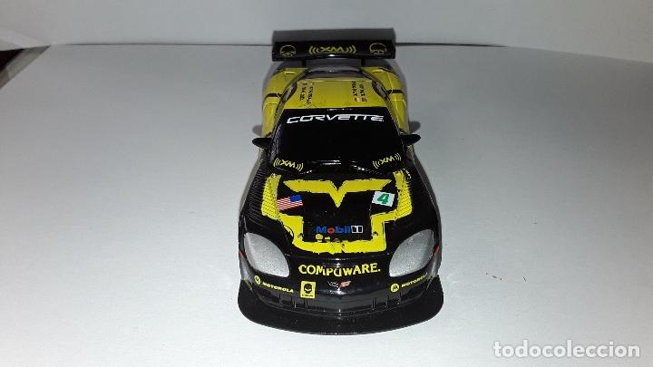 Slot Cars: CORVETTE C6R COMPUWARENº4-SCX COMPACT-PISTAS 1/43-FUNCIONANDO - Foto 5 - 174091393
