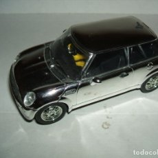 Slot Cars: MINI COOPER DE HORNBY COLOR PLATA. Lote 174206189