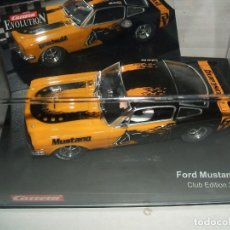 Slot Cars: FORD MUSTANG GT CLUB EDITION 2002 DE CARRERA. Lote 174328152