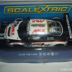 Slot Cars: AUDI R8 LMS CLUB SCALEXTRIC 2011 REF.-C3232. Lote 174328529
