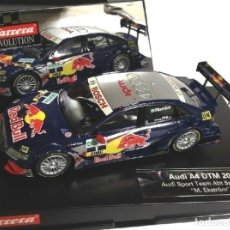 Slot Cars: AUDI A4 DTM 2008 EKSTROM CARRERA EVOLUTION SLOT CAR SCALEXTRIC SCX **. Lote 174396212
