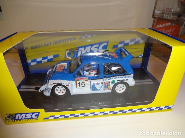 Slot Cars: Scaleauto. MG Metro 6R4. San Remo 1986. Ref. MSC-6003 - Foto 2 - 194086376