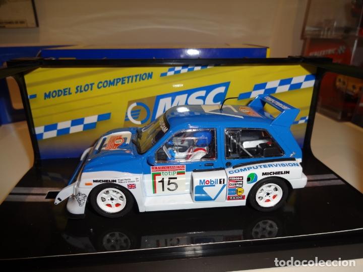 SCALEAUTO. MG METRO 6R4. SAN REMO 1986. REF. MSC-6003 (Juguetes - Slot Cars - Magic Cars y Otros)
