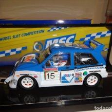 Slot Cars: SCALEAUTO. MG METRO 6R4. SAN REMO 1986. REF. MSC-6003. ULTIMA UNIDAD. Lote 212795472