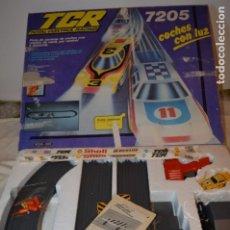 Slot Cars: ESTUCHE / CAJA - TCR MODELO 7205 MODEL IBER EXIN - MUY COMPLETO, MIRA FOTOS Y DETALLLES. Lote 175145703