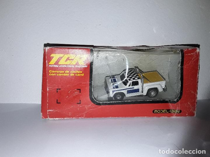TCR CAMIONETA SALVAOBSTACULOS MODEL- IBER (Juguetes - Slot Cars - Magic Cars y Otros)