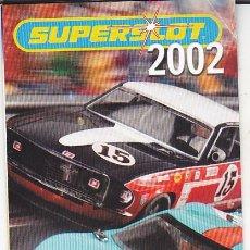 Slot Cars: CATALGO COCHES SLOT SUPERSLOT 2002. Lote 175966525