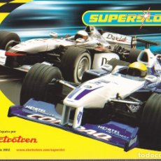 Slot Cars: CATALOGO SUPERSLOT 2002. Lote 175968870