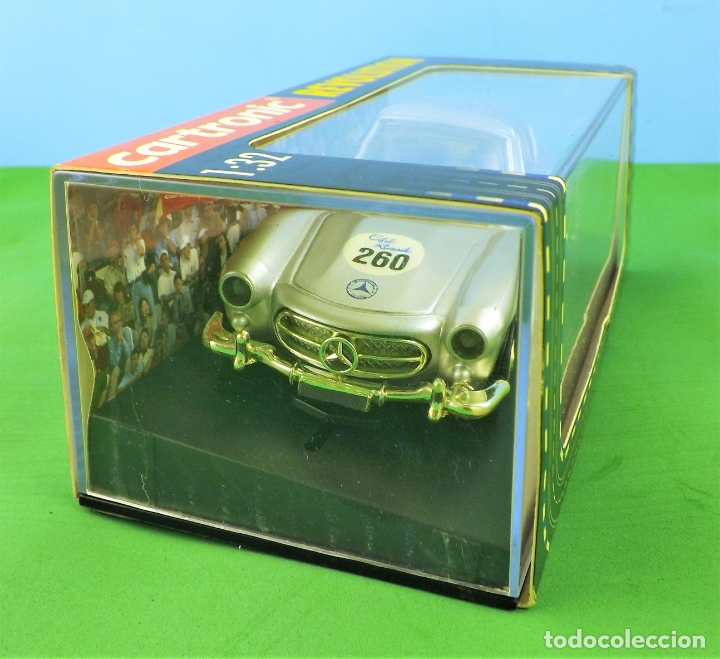Slot Cars: Slot Cartronic Mercedes Gullwing 300sl - Foto 2 - 176019109